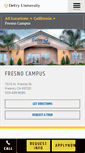 Mobile Preview of fresno.devry.edu