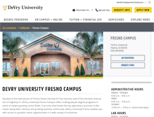 Tablet Preview of fresno.devry.edu